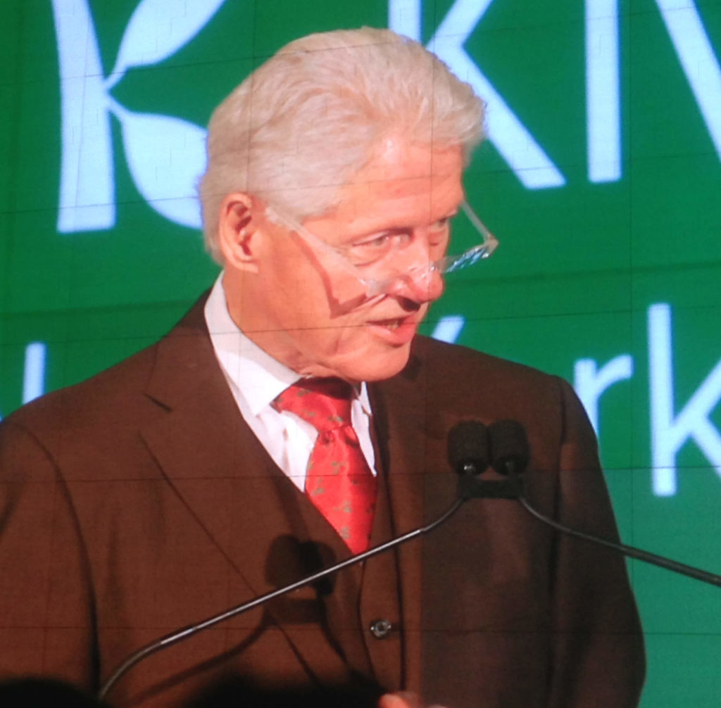 BIll Clinton on the Screen