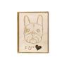 Wood Card – I Bite ♥