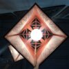 Laser Cut - Pendant Lamp - Geo - Small - Inside