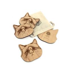 Coasters-Cat
