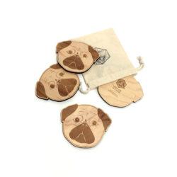 Coasters-Pugs